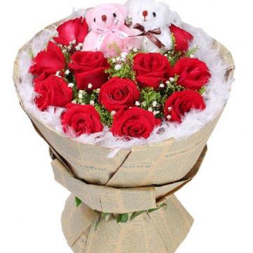 玫瑰花多少钱一朵,网上订购一束玫瑰花大概多少钱?