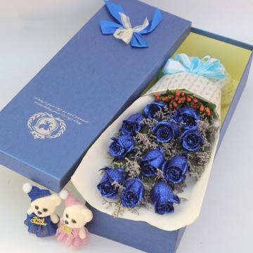 蓝色妖姬玫瑰花语,送蓝色妖姬玫瑰代表什么?