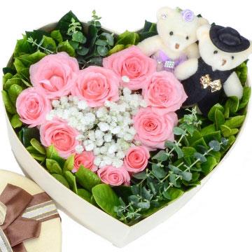 送女朋友11朵红玫瑰代表什么意思?
