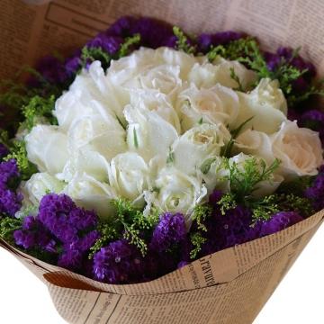 21朵白玫瑰的花语是什么?