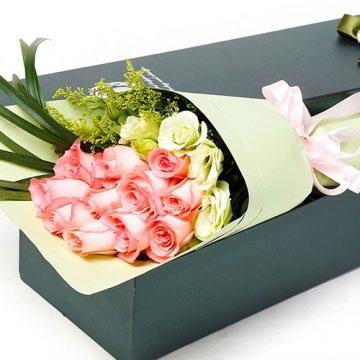 粉色玫瑰的花語是什么?