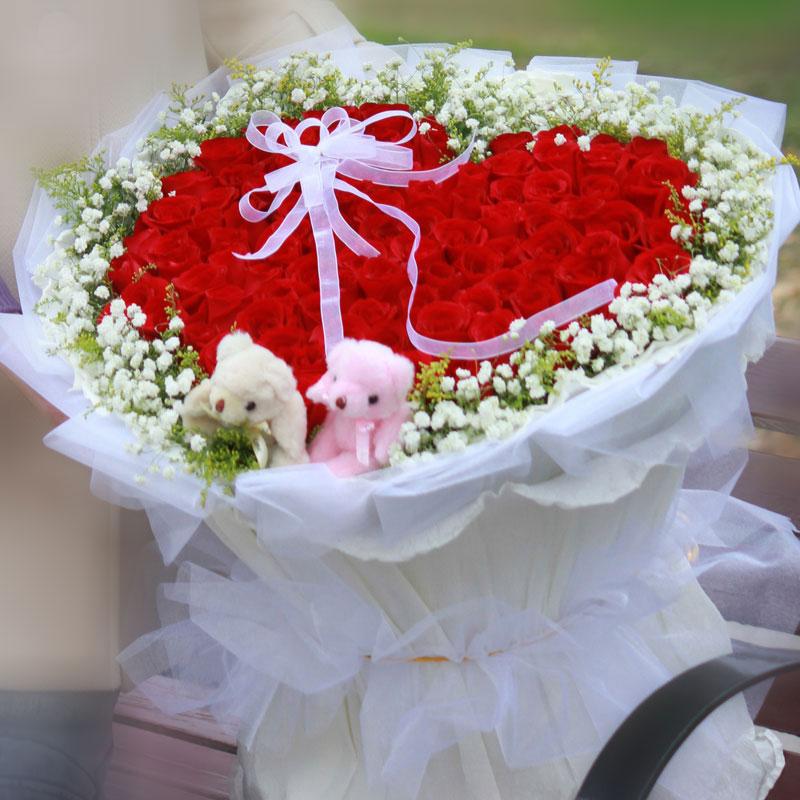向女朋友(恋人)表白应该送多少朵玫瑰比较好?