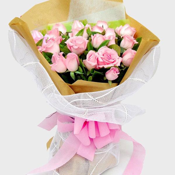 送21朵粉玫瑰有什么寓意?