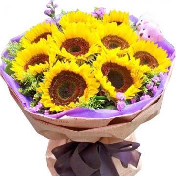 女性冤家生日可以送花吗?