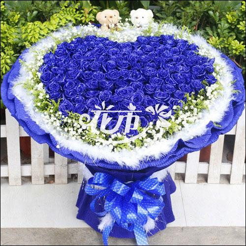 520情人节送老婆什么颜色的玫瑰花比较好?