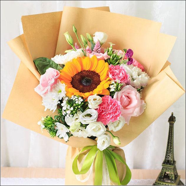 2018新款韓式鮮花花束圖片大全