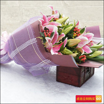 结婚一周年纪念日送什么花?