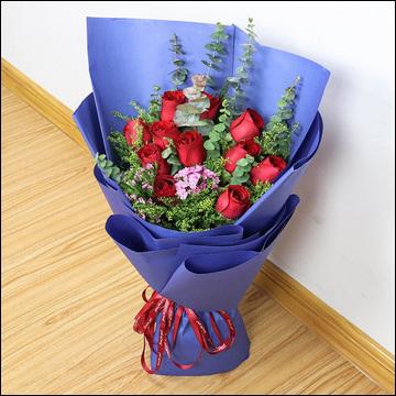 光棍节送女朋友鲜花好不好?