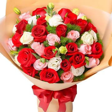 张家口市赤城县网上鲜花店,赤城县鲜花店送花