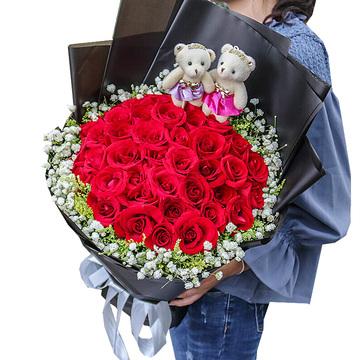绵阳市盐亭县在线鲜花配送-盐亭县实体店可以送花吗?