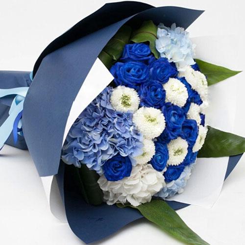 蓝色妖姬多少钱一朵?