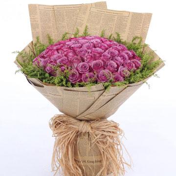 紫玫瑰的花语是什么?