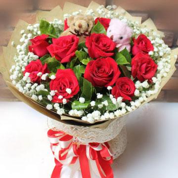 十一朵玫瑰花花语,十一朵玫瑰花代表什么?