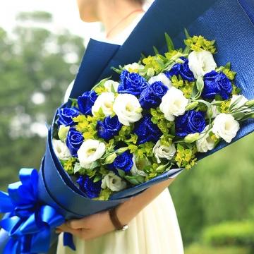 蓝玫瑰的含义,蓝玫瑰代表什么意思?