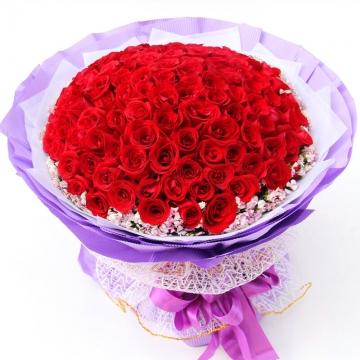 99朵玫瑰的含义,99朵玫瑰代表什么意思