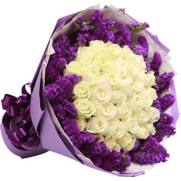白色玫瑰代表什么,送恋人白色玫瑰代表什么意思?