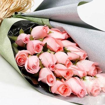 给女朋友送花留言写什么好?
