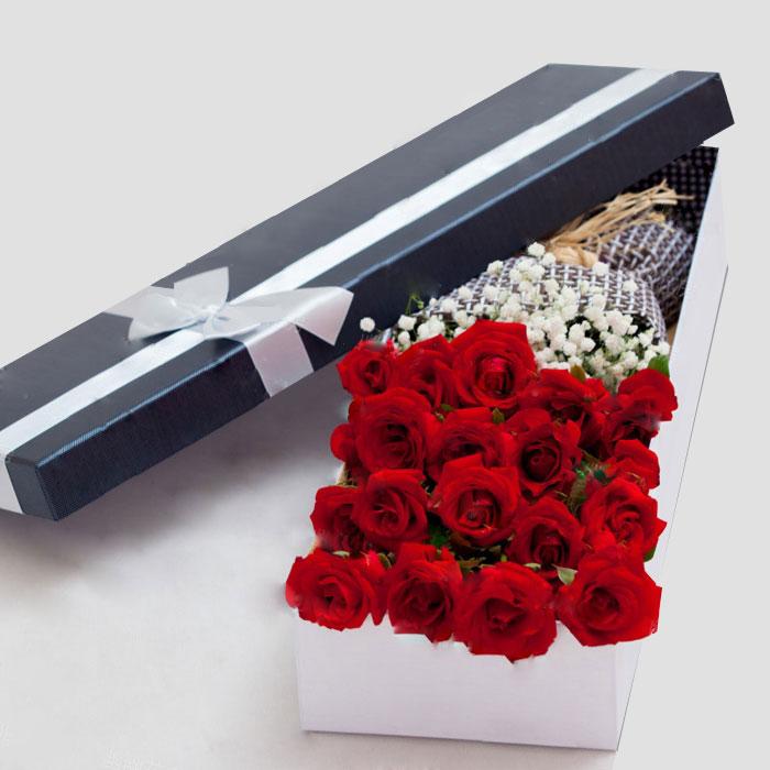 向女朋友表白应该送多少朵玫瑰比较好