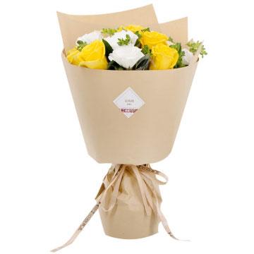 黄玫瑰花语是什么,黄玫瑰送给女朋友行吗