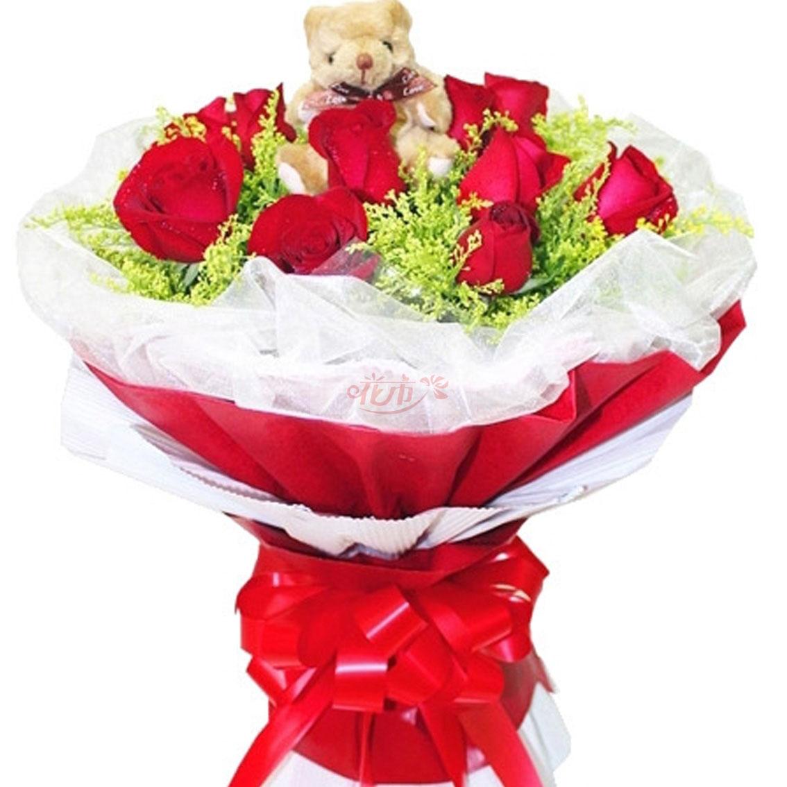 520送女孩红玫瑰代表什么意思