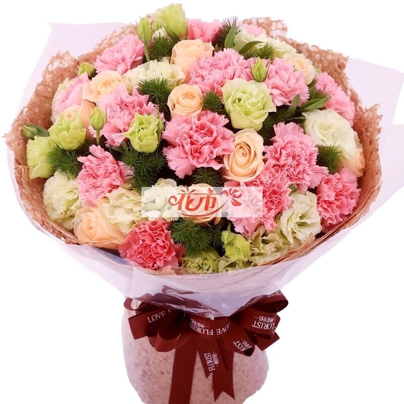 母亲节送几朵康乃馨比较好?
