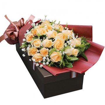 送摩羯座女生送什么花?