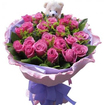 结婚纪念日送什么颜色的玫瑰好?