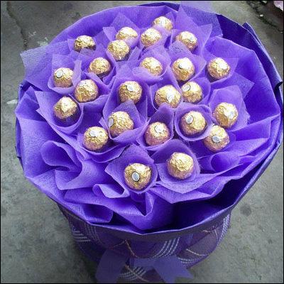 巧克力花束图片大全