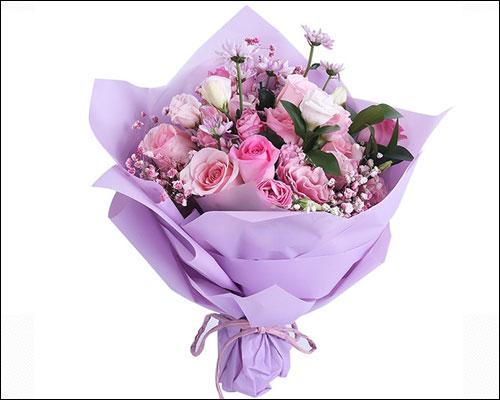 给老人祝寿送什么花