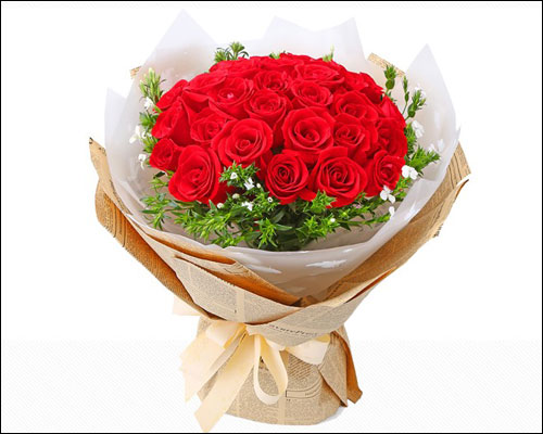 520情人节送什么颜色的花给老婆