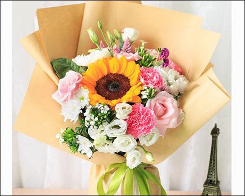 韩式鲜花花束图片大全