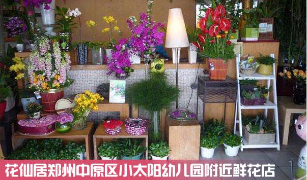 郑州中原区小太阳幼儿园鲜花店
