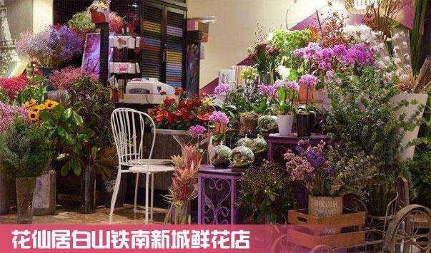 白山铁南新城鲜花店