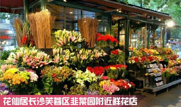 长沙芙蓉区韭菜园鲜花店