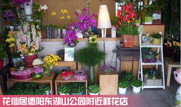 德阳东湖山公园鲜花店