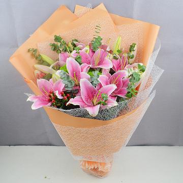 天津红桥区网上鲜花速递,雨涩清濛