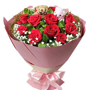 陽高縣網上鮮花店,我們的小熱戀