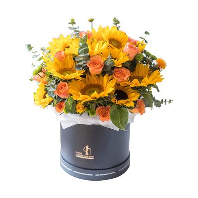 左权县网上订花,橙光斜阳