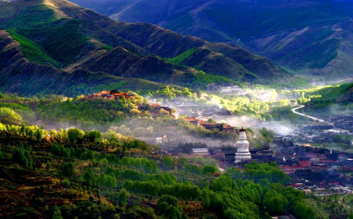 佛教名山五臺山