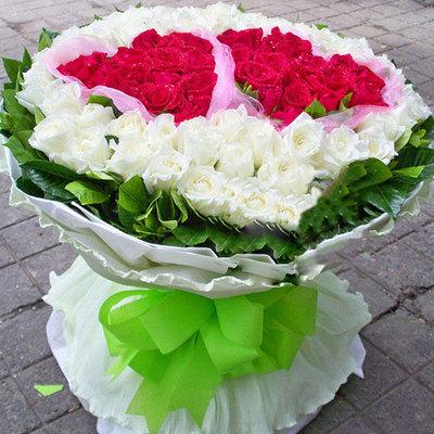 爱如此心 (红玫瑰 白玫瑰 爱情 友情 朋友 情人 七夕 生日 圣诞)