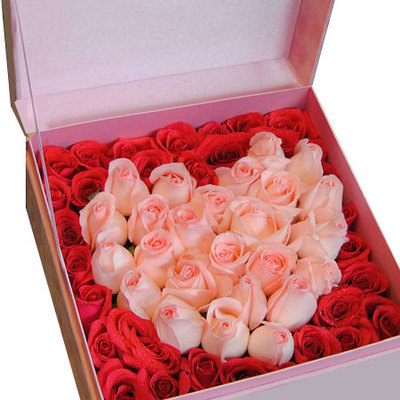 爱的承诺 (戴安娜玫瑰 红玫瑰 爱情 友情 情人 生日 七夕 朋友 圣诞 礼盒)