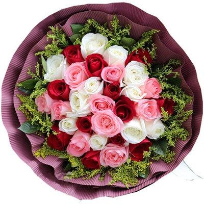 叶落之秋 (红玫瑰 粉玫瑰 白玫瑰 爱情 友情 生日 情人 七夕 朋友 圣诞)