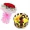 花市鲜花网_甜蜜味道 14寸蛋糕