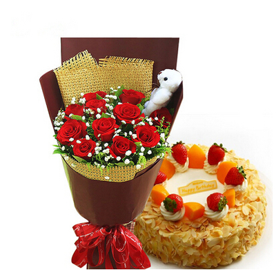 爱的诱惑 8寸蛋糕