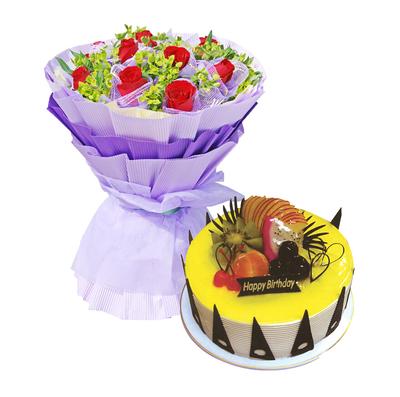 亲亲宝贝 14寸蛋糕