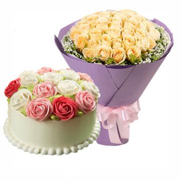 相爱永远 10寸蛋糕