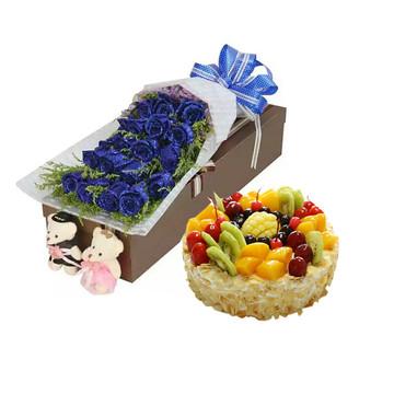 朴素爱情 10寸蛋糕