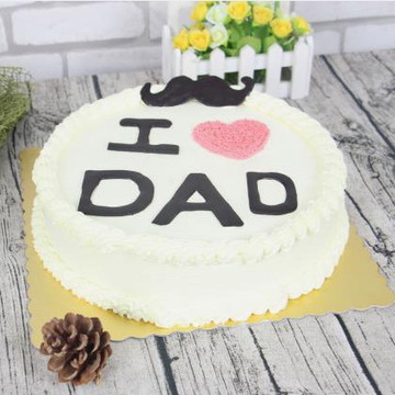 I LOVE DAD 8寸