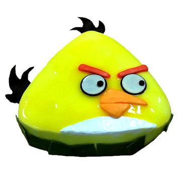 黄色愤怒的小鸟 14寸