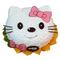 花市鲜花网_微笑kitty猫 8寸